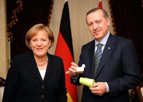 Merkel Türkiye´de