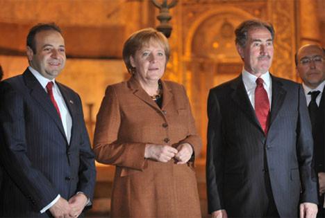 Merkel İstanbula hayran kaldı