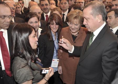 Erdoğan Merkeli böyle şaşırttı
