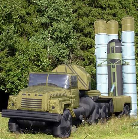 Rusya ın yeni silahları şişme