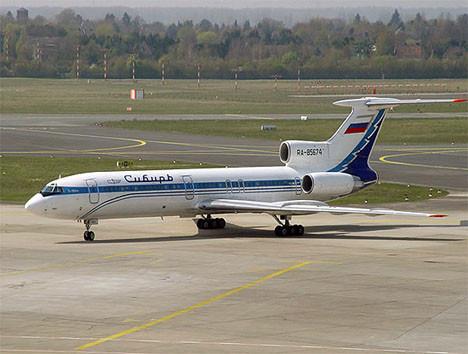 Tartışmalı uçak Tupolev