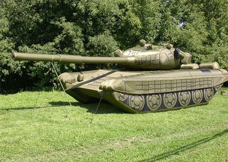 Rus ordusunun şişme tankı