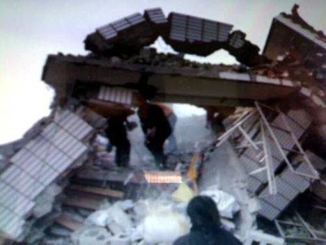 Çinde 7.1lik deprem