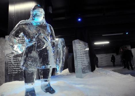 İlk buz müzesi açıldı