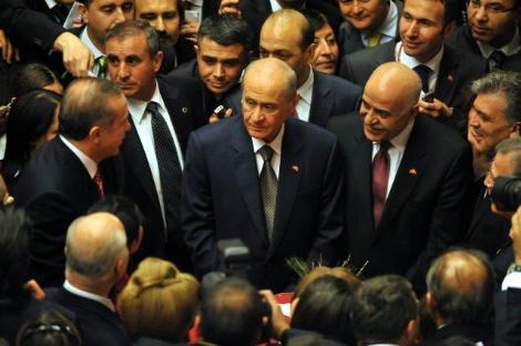 Ankarada 23 Nisan resepsiyonu