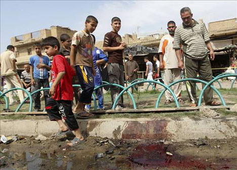 Iraka bomba patladı!