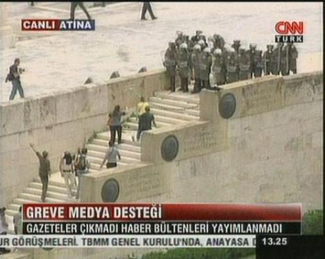 Yunanistan da isyan