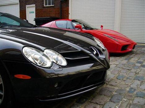 Mafya babasının otomobil koleksiyonu