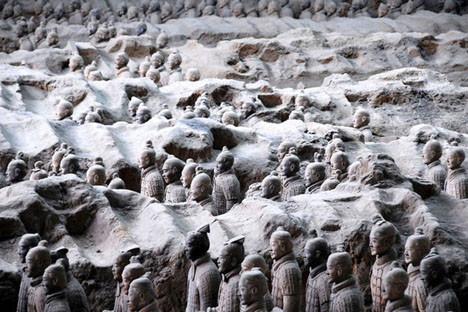 Yeraltındaki Terra Cotta ordusu