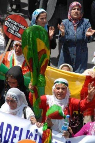 BDPliler eylem yaptı