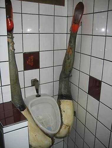 En acayip tuvaletler