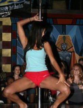 ABDnin kraliçesi striptizci çıktı !