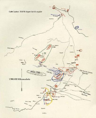 İşte Atatürkün savaş haritaları