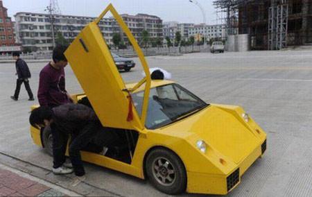 Üç bin dolarlık Lamborghini