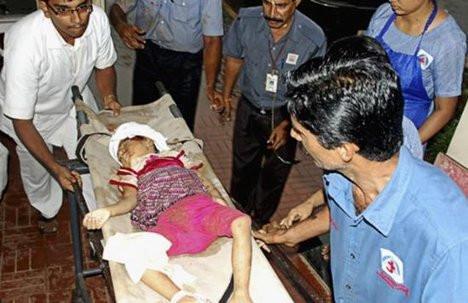 Hindistanda uçak kazası