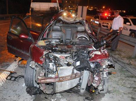 Bu otomobilde kimse ölmedi