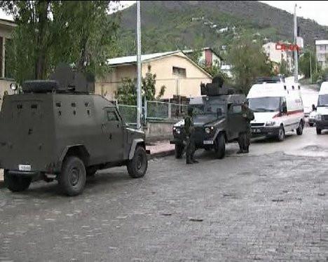 PKKlıların cesetleri bastıkları karakola getirildi