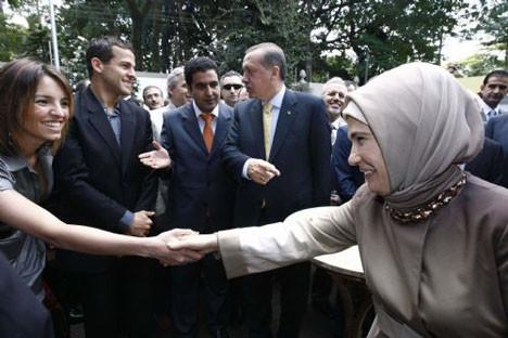 Erdoğan Brezilyada!