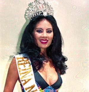 Güzellik kraliçesi tutuklandı