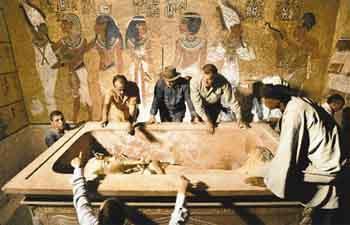 Mısırın gizemli firavunu Tutankamon