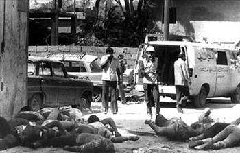 İsrailin yaptığı katliamlar!