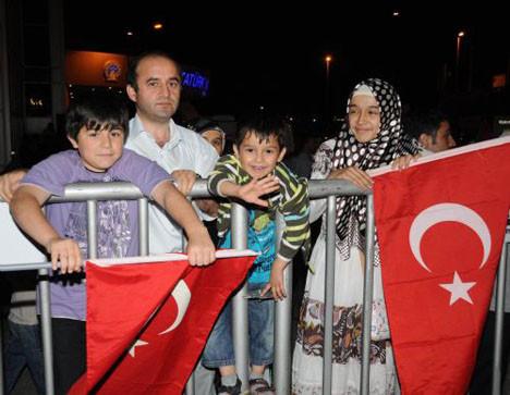 Gemidekiler Türkiyeye geldi