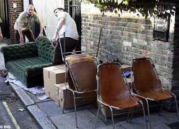 Kate Mossun kirli çamaşırları