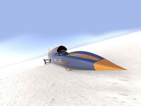 Roket otomobil rekor için hazırlanıyor