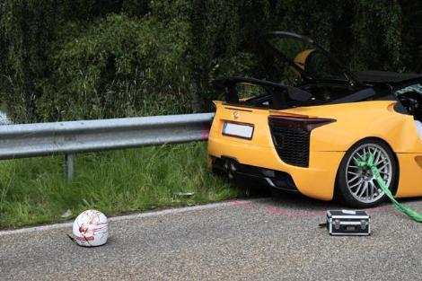 Spor aracın test sürüşünde facia !