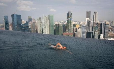 55. katta havuz keyfi