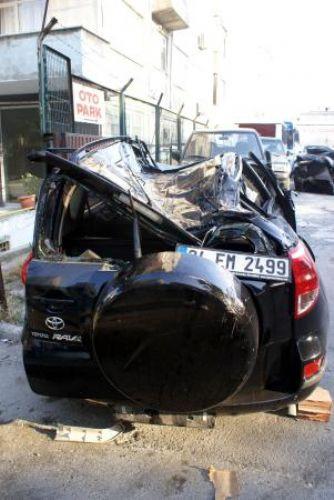 Atatürk Havalimanında korkunç kaza !