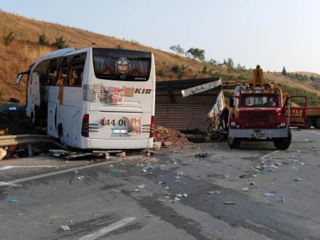 Osmaniyede katliam gibi kaza !