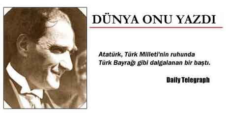 Tarih 11 Kasım 1938... Dünya basını Atatürkü yazdı...