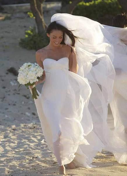 Megan Foxun düğün fotoğrafları