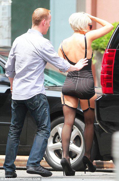 Lady Gaga fena yakalandı