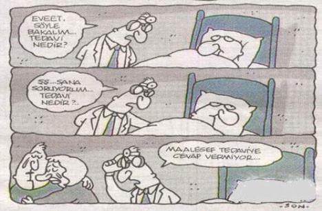 Tıbbi karikatürler