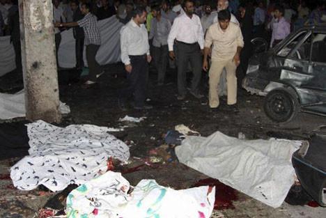 İranın Aposu için intikam saldırısı