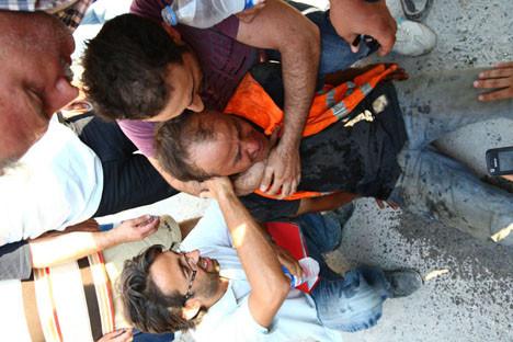 İzmir metrosunda patlama !