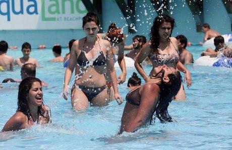 Antalya sıcaktan kavruluyor (Galeri)