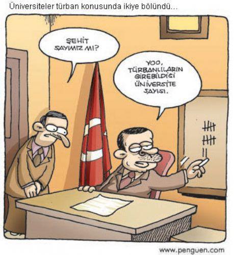 En iyi Erdoğan karikatürleri