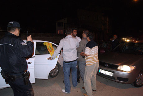 Erzurumda BDP gerginliği