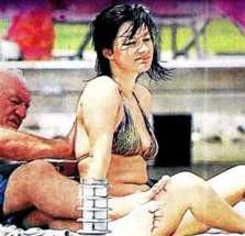 Ali Şen genç sevgilisiyle görüntülendi