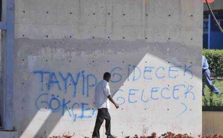 Ankarada ilginç yazılar