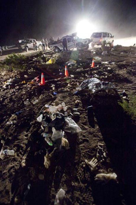 Arazi araçlarının yarışında facia: 8 ölü