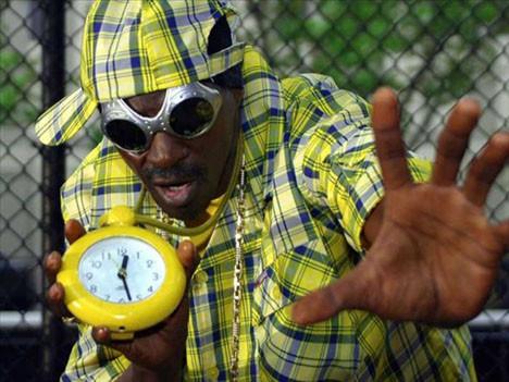 Rap müziğin saatli yıldızı