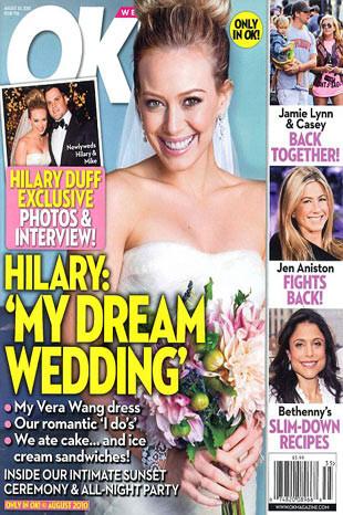 Hilary Duffın rüya gibi düğünü