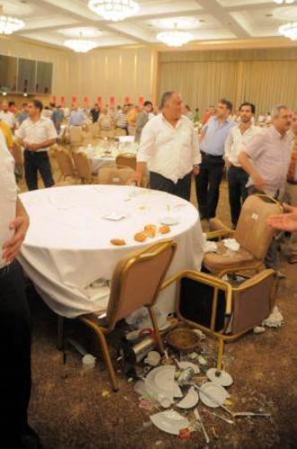 Saadet Partisi iftarını bastılar!