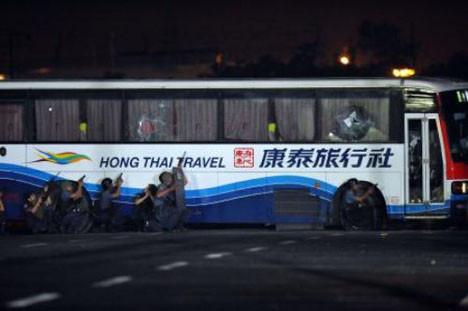 Otobüste dehşet