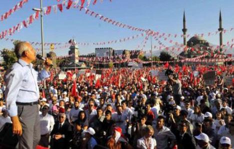 Kılıçdaroğlu Kayseride!
