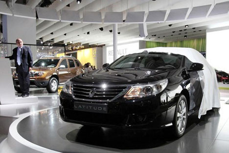 Moskova Uluslararası Otomobil Fuarı